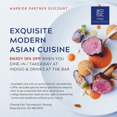 warrior partner discount medium